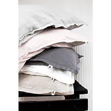 pillowcase 50x60 cm colours light grey pale pink dark grey white