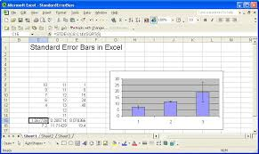 Standard Deviation Chart Excel 52 Friendly How To Draw Error Bars Using Standard Deviation