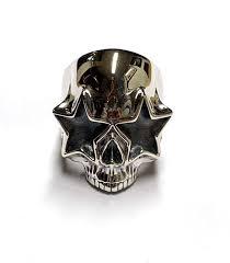 <b>Slash Living The</b> Dream Skull Ring | AJT Jewellery
