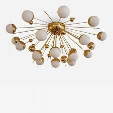listings furniture lighting chandeliers and pendants fedele papagni large sputnik ceiling mount