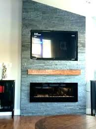 wall mount electric fireplace decorating