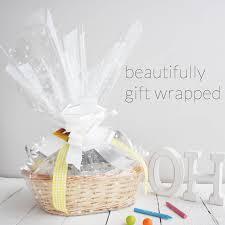 deluxe boy new baby gift basket