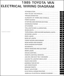 1985 toyota camry le wiring diagram 1985 diy wiring diagrams 1985 toyota van wiring diagram 1985 home wiring diagrams