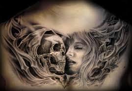 Tetování Lebka S Růží Význam