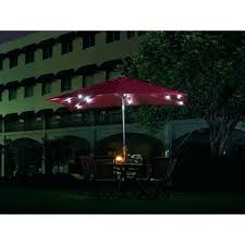 outdoor lighting rectangle patio umbrella foot cantilever with base clearance rectangular solar 9 ft aluminum in
