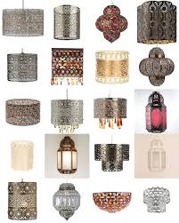 lighting lamp shades. shabby chic moroccan light shade ceiling pendant lampshade chandelier new lighting lamp shades