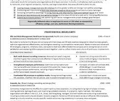 Sample Resume For Experienced Hr Executive Hr Manager Resume Sample India In Word Format Pdf Fresher Doc 40