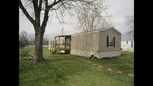 mobile home trailer 16x80 like new