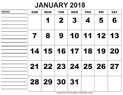 calendars with notes 167 best print 2018 calendar images on pinterest monthly calendars