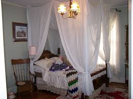 Sheer Bedroom Curtains Amusing Canopy Bed Sheer Curtains Pictures Ideas Amys Office