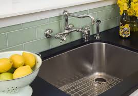 simple wall mount kitchen faucet