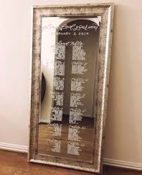 Mirror Seating Chart Rental Available Only In Austin Tx Design To Flourish