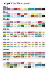 Copic Ciao Colour Chart Google Search Copic Ciao Marker