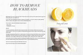 friday diy black head removal dirty looks fashion north