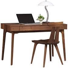 walnut home office furniture. Plain Home Copeland Furniture Catalina Home Office Desk In Natural Walnut On E