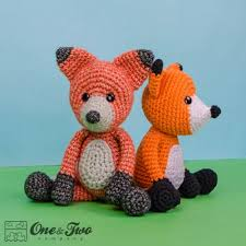 Crochet Fox Pattern Beauteous Flynn The Fox Amigurumi Crochet Pattern