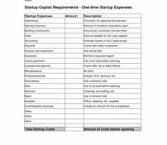 Business Startup Spreadsheet Template Free Start Up Budget Excel Set