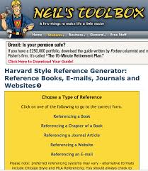 Harvard Wiki Reference Generator Term Paper Sample
