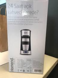 Kağıthane içinde, ikinci el satılık Homend 5004 Filtre Kahve
