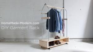 Diy Pipe Coat Rack DIY Garment Rack EP100 YouTube 32