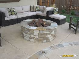 rocklin fire pit rocklin california this 4 round x 18 tall rocklin fire pit features a complete stone veneer with gas valve and 30 dual burner fire