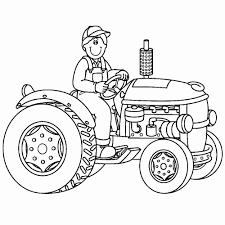 Kleurplaten Tractor New Holland