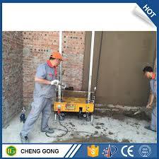 china wall painting machine auto cement concrete plastering machine china automatic wall plastering machine wall rendering machine