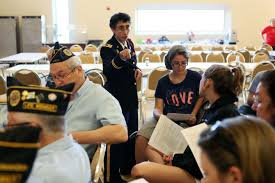 Dallas teens, veterans and Army rabbi discuss Judaism and military service
