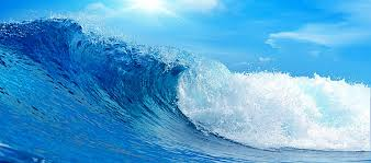 Ocean Wave Background Blue Ocean Wave Background Blue Ocean Wave Background Image For