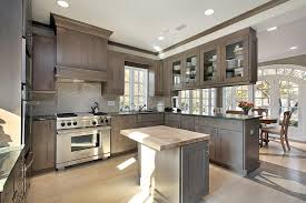 interesting wood cabinet kitchen color