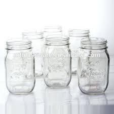 mason jar drinking glasses wholes glass mason jars drinking glass with lid and straw country style