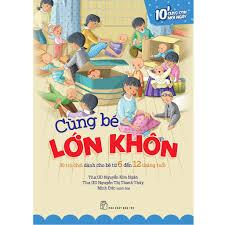 Sách: Cùng bé lớn khôn - 30 trò chơi dành cho bé từ 6 đến 12 tháng tuổi  giảm chỉ còn 44,000 đ