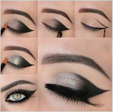 eye makeup steps poster