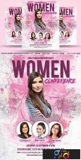Church Women Conference Flyer Poster 2958709 Freepsdvn