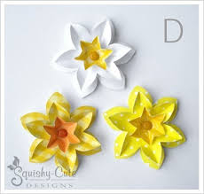 Daffodil Paper Flower Pattern 27 Images Of Daffodil Paper Cutting Template Bfegy Com