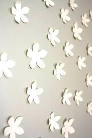 white flower wall decor white flower wall decor framed fabric flowers home design art pink metal
