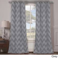 duck river lysanna grommet top thermal insulated blackout curtain panel pair 38x84 free today 18377637