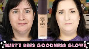 burt s bees goodness glows friday foundation fix review on dry skin over 40