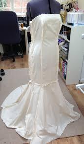 Fishtail Wedding Dress Pattern The Front Wedding Pinterest