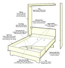 murphy bed cabinet plans. Interesting Murphy Queen Wall Bed Plans With Desk Free More Views Murphy Horizontal Pdf   White A  Throughout Murphy Bed Cabinet Plans I
