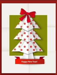 New Year Coreldraw Greeting Card Free Vector Download