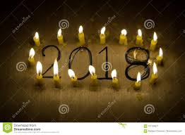 Candle Lighting 2018 Marvelous 2018 Candle Light Stock Image Image Of Number