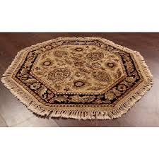 area rugs red octagon octagon rugs best rugsville traditional wool multi rug