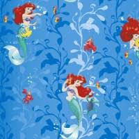 <b>Обои виниловые на</b> флизелиновой основе <b>Erismann</b> Disney Ariel ...