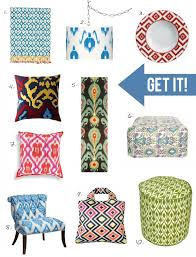 Home Decor Trend Ikat Patterns Are In « Stencil StoriesIkat Home Decor