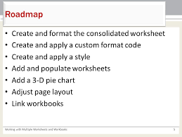 Chapter 5 Working with Multiple Worksheets and Workbooks Microsoft ...