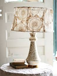 interesting home lighting decoration with various homemade lamp shades handsome picture of decorative white lace