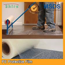 carpet protector film. heavy duty car carpet protector film , sticky back plastic e