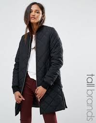 noisy may tall quilted er jacket black women jackets noisy may lace dress official authorized