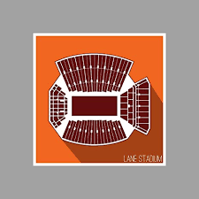 Va Tech Football Seating Chart Amazon Com Artsycanvas Virginia Tech Hokies Lane Stadium